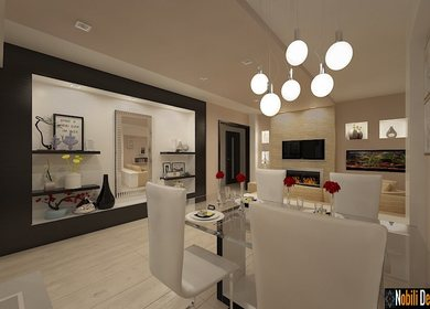 Design interior apartament modern - Amenajari interioare 3d