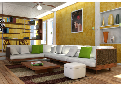 Interior Design - 3DS Max 2012 and Mental Ray