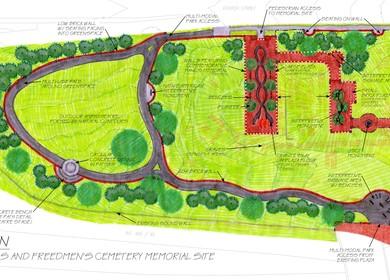 Memorial Cemetery - Contrabands' and Freedmen's Cemetery Memorial Site