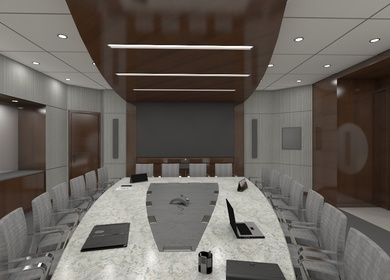Technology Company Worldwide Boardroom