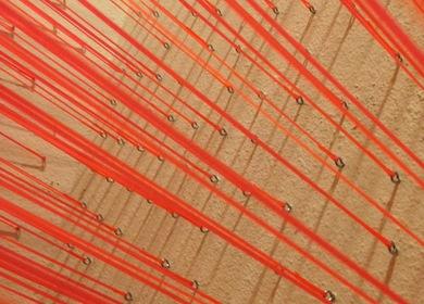 Lobby String Installation