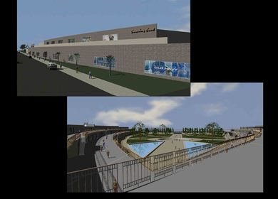Canterbury Court: Shopping & Entertainment Center (Thesis)