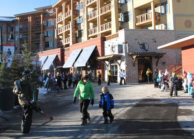 Canyons Resort Retail Storefronts
