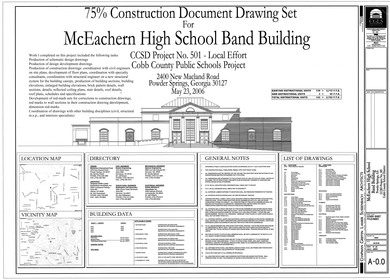 McEachern Band Building