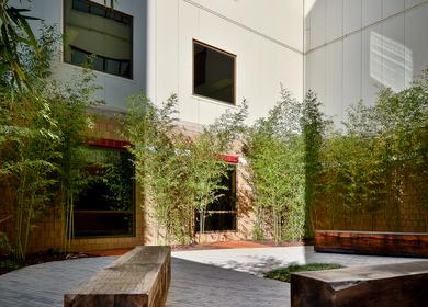 Regional One Medical Center Courtyard