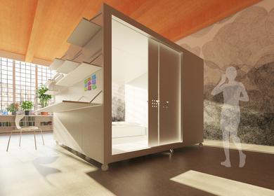 Artist Studio Sleeping Box