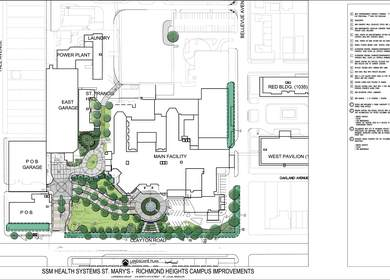 Saint Marys Health Systems Campus improvements