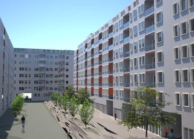 Residential Block Dr. Ivan Ribar, New Belgrade