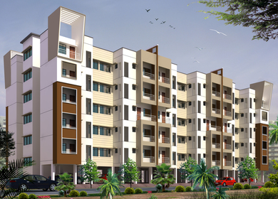 Affordable housing scheme under JNNURM's BUSP-on PPP model at Nagpur.