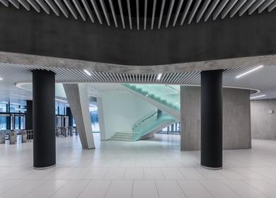 Interiors of SKA Hockey Club Sports Complex