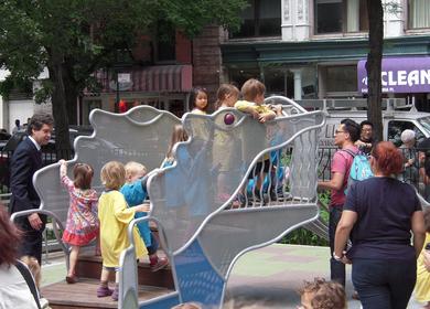 Adrienne's Garden, aka LGA Pl Children's Garden