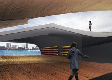 Studio B-1 Boat House
