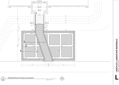 Construction Details of Campus Space