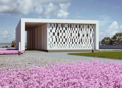 Summer Pavilion On Azov Coast