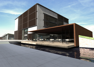 Mersin Chamber of Commerce and Industry Building ,Competition Project
