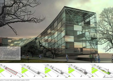 Twsting Box-IIT Innovation Center - Parametric Design Competition