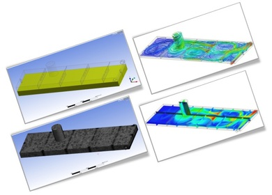 CFD Simulation of Airflow inside Oil Tank