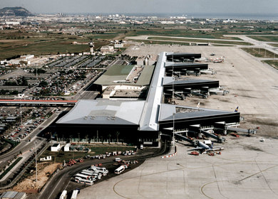 Terminal II at Barcelona Airport