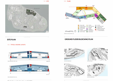 NEW ADMISSIONS FACILITY - RIKERS ISLAND - SCHEMATIC DESIGN