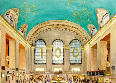 Grand Central Terminal, Centennial Celebration on the Main Concourse
