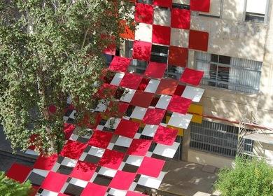 IE-50 Instalación-Exposición con motivo del 50º aniversario de la ETS Arquitectura de Sevilla