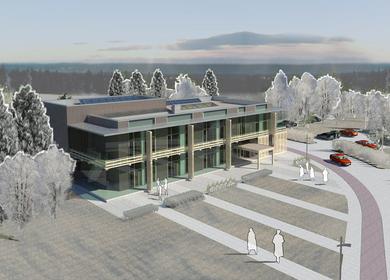 SC 'Latvijas valsts meži' office building