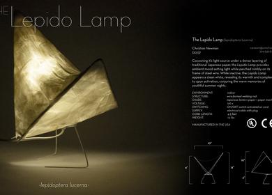 Lepido Lamp [lepidoptera lucerna]