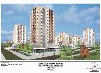 Bendaoud Urban Center, (Mixed Use Development) Mascara, Algeria.