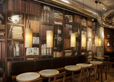 Espresso House wallpaper design