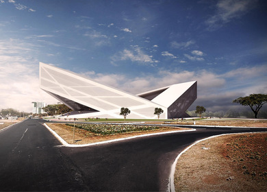 Brasilia Athletics Stadium (2nd prize)