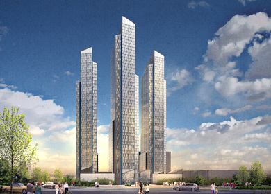 Mixed Use High Rise Residential Towers