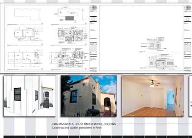 Graham Avenue House Unit Remodel