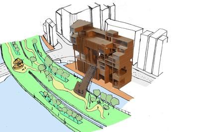 Projet de Fin dEtudes - Urban Gruyere in Nihombashi