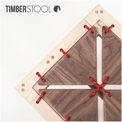 Timber Studio Stool