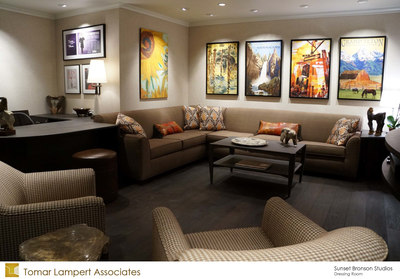 Sunset Bronson Studios Dressing Room