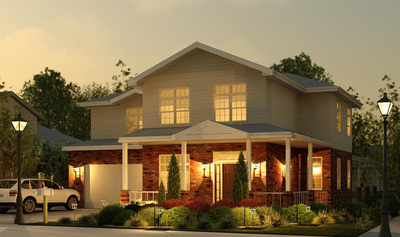 Green Home 2,025 sq.ft.