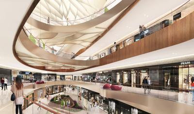 RTKL project   Dalian Shopping Mall, China