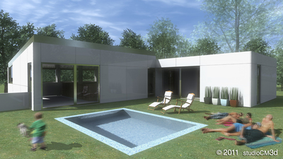 Family House - Collaboration with GAUS - Gestión de Arquitectura, Urbanismo y Suelo (A Coruña, Spain)