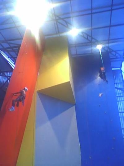 "Climbing Wall Paseo ""Reina Lucero"""