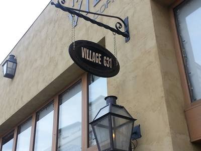 Villiage 631 Sign