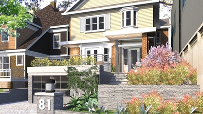 McDonough's Residence Exterior Renovation
