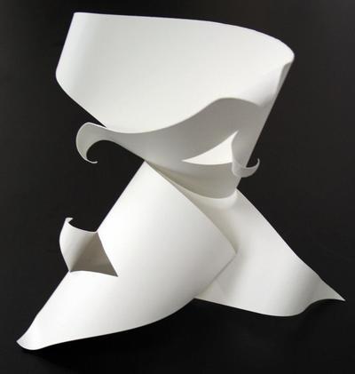 Free-standing Paper Sculpture