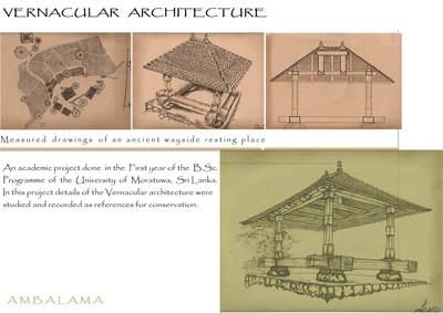 'Ambalama' - Historic wayside Resting pavelions
