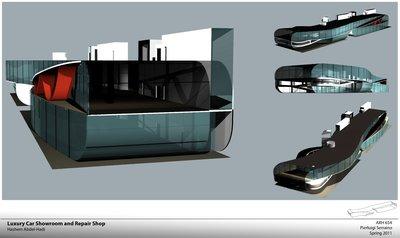 Luxury Car Showroom