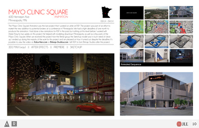 Mayo Clinic Square Animation