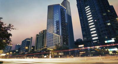 UOB Building/ Pan Pacific Hotel, Xiamen