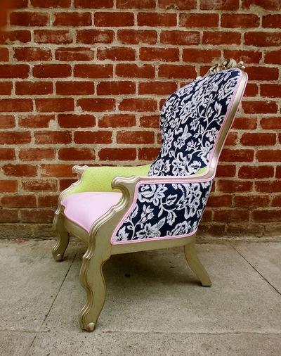 Ostrich Louis Chair