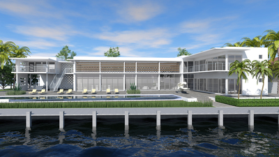 Tropical Modern House II