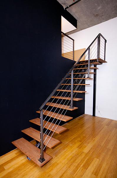 Matt's Loft Staircase