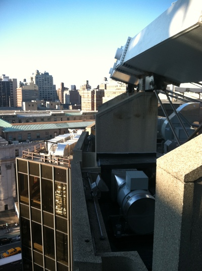 Madison Square Garden Roofinf Renovation